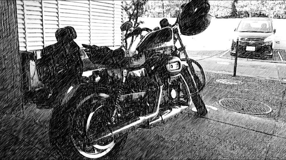 絵風バイク